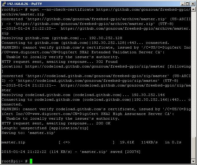 Web Control Of Raspberry Pi Gpio In Freebsd Vadim Zaigrin